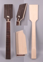 Yinfente 7 string electric guitar neck replacement 22 fret Paddle head maple rosewood fretboard guitar maker 25.5 inch недорого