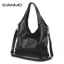 Женская сумка через плечо из мягкой натуральной кожи, элегантная женская Сумка Хобо на плечо, сумочка-мессенджер, красная сумка