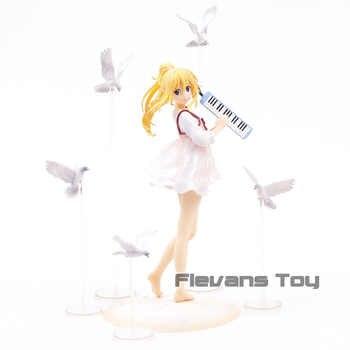 Aniplex Shigatsu wa Kimi no Uso Miyazono Kaori 1/8 Bilancia PVC Figure Da Collezione Model Toy