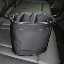NEW Universal Environmentally cloth car trash can Oxford thickening Car storage bag portable Velcro garbage