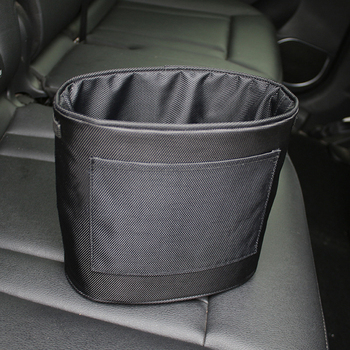 Nowy uniwersalny ekologicznie tkaniny samochodowy kosz na śmieci Oxford tkaniny pogrubienie worek do przechowywania samochodu przenośny rzep worek na śmieci w Śmietniki samochodowe od Samochody i motocykle na