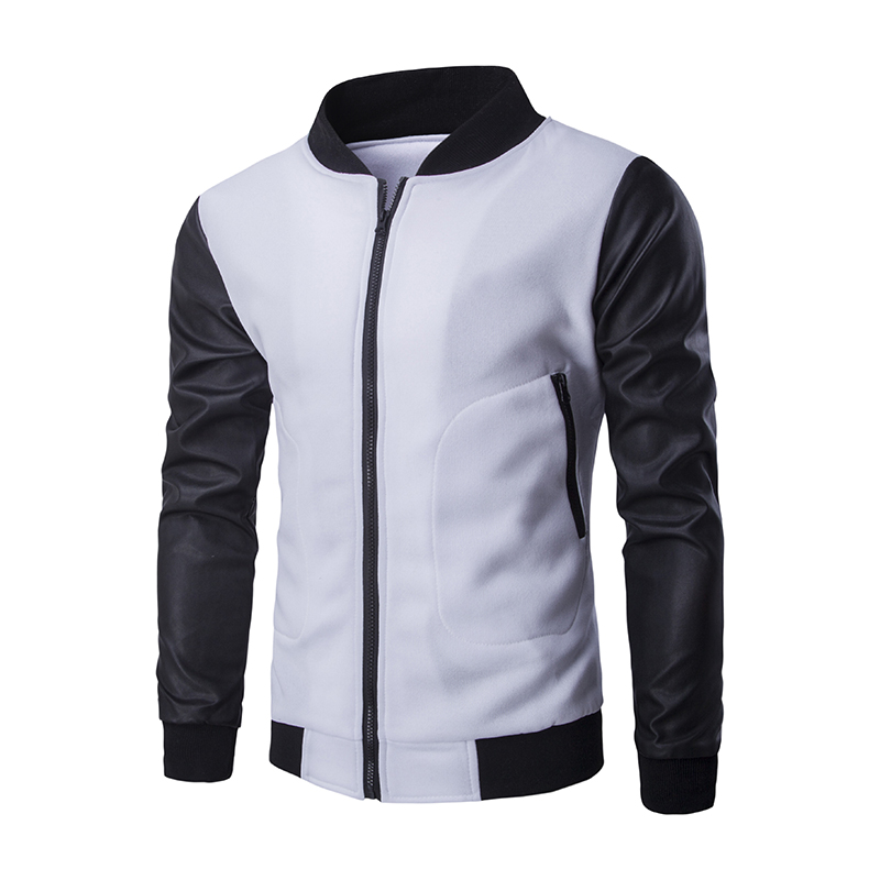 Popular White Baseball Jacket-Buy Cheap White Baseball Jacket lots