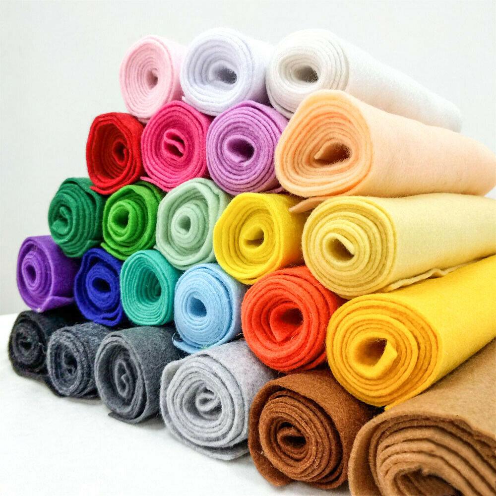 Рулон мягкого войлочного полотна 90*90 см, нетканый войлочный тканевый лист, рукоделие, шитье, куклы, аксессуары, материал толщиной 1,4 мм для дв...