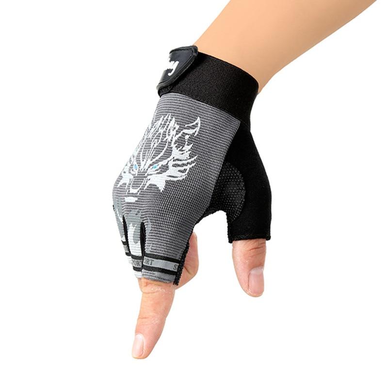 Nuevos guantes de deporte para niños Guantes con estampado de lobo - Accesorios para la ropa - foto 6