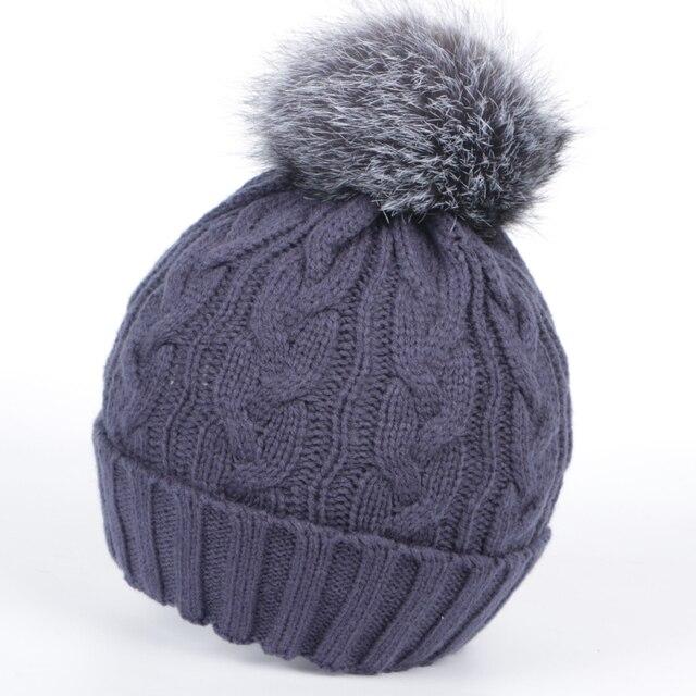 2016 winter hats for women hat Skullies & Beanies fur hat