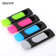 4pcs/lot Ink Eraser Friction For Erasable Pen 50mm*20mm Rubber Pencil Stationery Office School Supplies