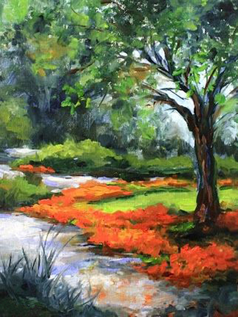 Professional High Skilled Painter Handmade Beautiful Landscape Natural Scenery Oil Painting On