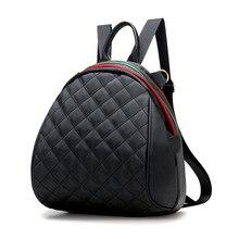 Женщины рюкзак женский решетки алмаза многоцелевой плед женские рюкзаки для девочек-подростков drawstring сумка mochila bagpack