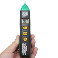 2017 New Mastech MS6580 Non-Contact Voltage NCV Test Infrared Laser IR Thermometer tester