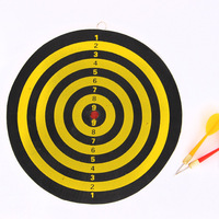 New Indoor 12 Inch Sport Double Target Dart Game Dartboard Board Double Thickening For Wholesale And