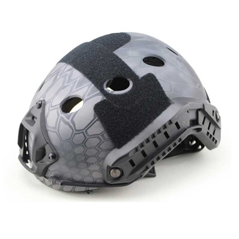Tactical FAST Sports Safety Helmets PJ TYPE for Airsoft Painball Military Adjustable CS Dial Pararescue Jump Protective Helmet