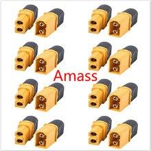10 x Amass XT60+ разъем с оболочкой корпус 5 Мужской 5 женский(5 пар) сервопривод запасные части