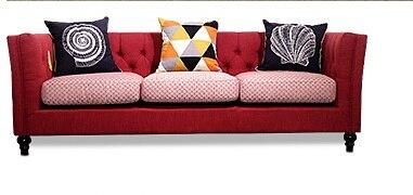 US $569.05 5% di SCONTO|Più nuovo Mobili Per La Casa panno di velluto  Europeo Tessuto moderno Soggiorno Divano componibile divano a tre posti in  stile ...