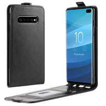 Luxury Retro Vertical Flip Leather Case For Samsung Galaxy s10e S10 Lite S9 S8 Plus Phone Back Cover Wallet With Card Slot