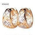 XIAGAO Новый Модельер Женщин Серьги Старинные Стильный Полые Обруч Серьги для Женщин Ювелирные Изделия Высокого Качества Подарок E403
