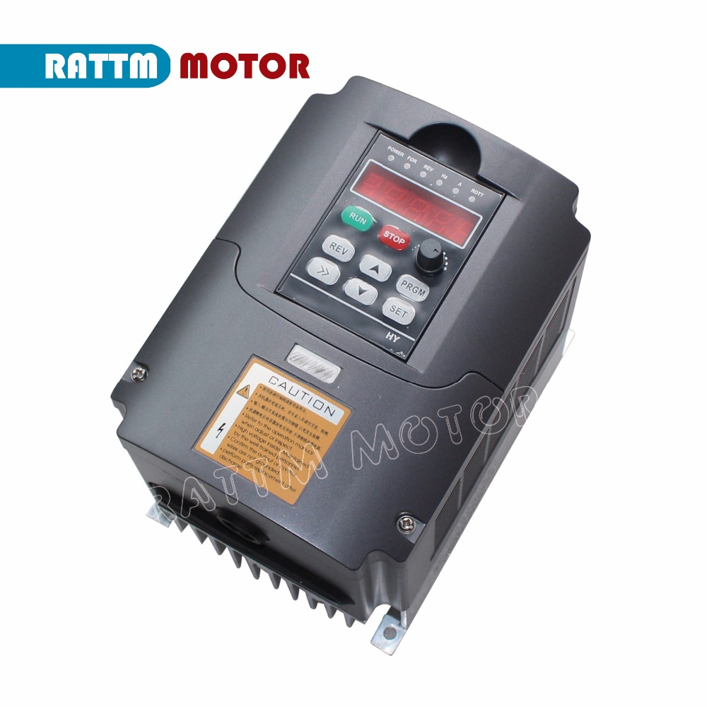 цена на 3KW 110V VFD Variable Frequency Drive VFD Inverter Input 1 or 3HP output 3HP