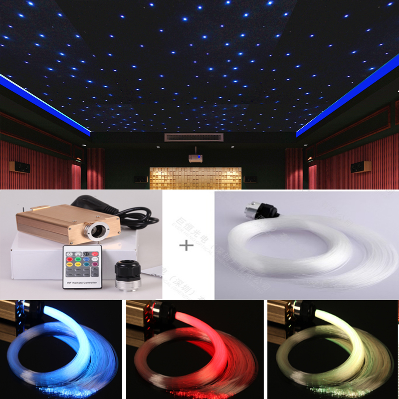 Us 144 32 Home Theatre Cinema Fiber Optic Lighting For Star Ceiling Decoration In Lights From On Aliexpress