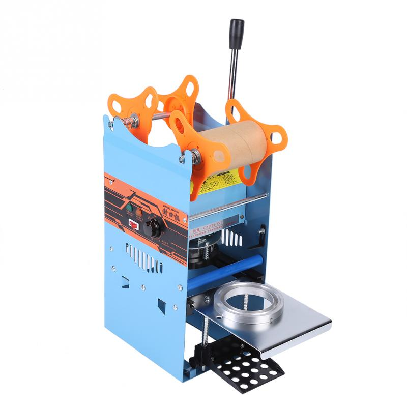 Commercial 270W Electric Manual Cup Sealing Machine for Bubble Tea ...