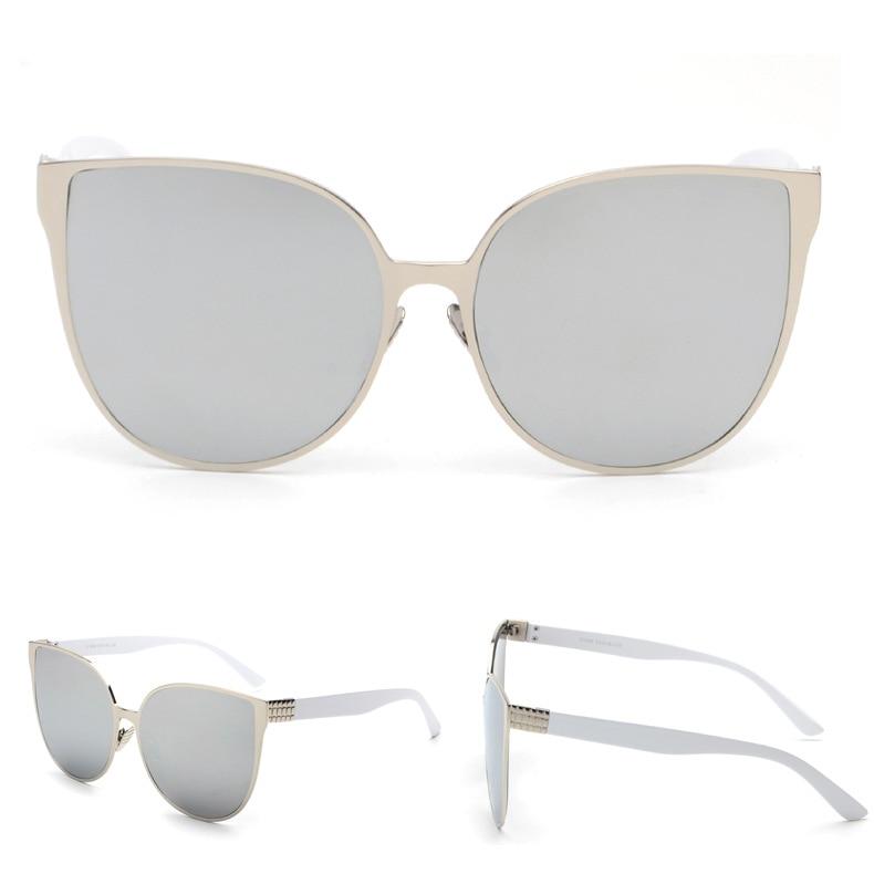 Poznati brend mačkasti dizajner hip-hop modne sunčane naočale - Pribor za odjeću - Foto 6