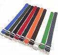 Atacado 10 Pçs/lote Alta qualidade 20 MM nylon cintas cintas cintas tecer relógio pulseira de Relógio banda-PS001 perlon