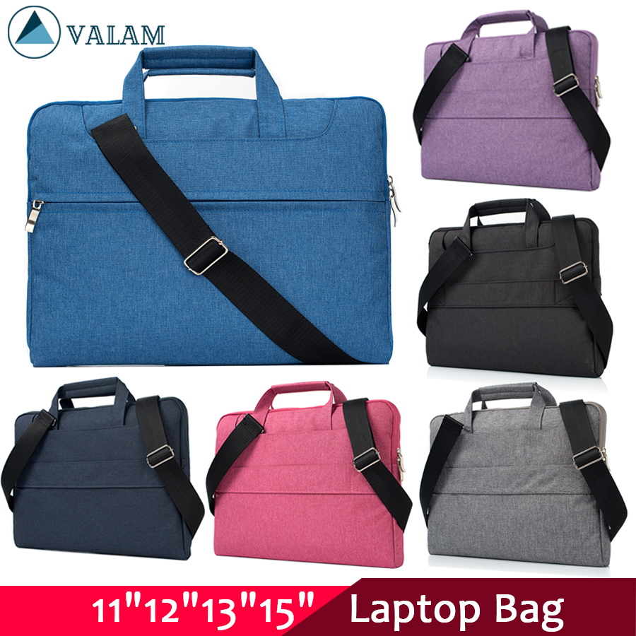 Laptop bag for Dell Asus Lenovo HP Acer Handbag Computer 11 12 13 14 15 inch for Macbook Air Pro Notebook 15.6 Sleeve Case-in Laptop Bags & Cases from Computer & Office