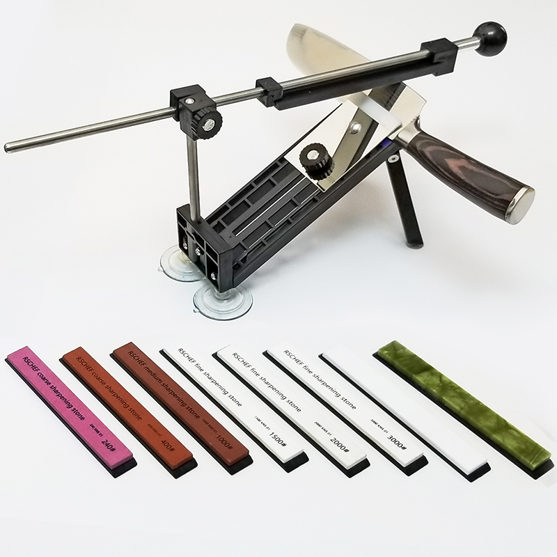 RUIXIN PRO sharpening system knife sharpener RSCHEF professional sharpening stones grind(China)