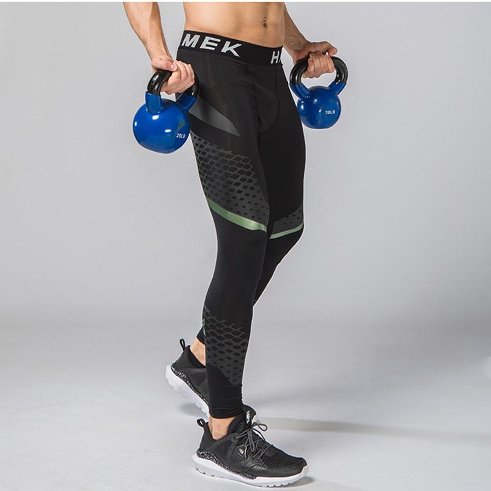 Men Compression Running Tights Pants Jogging Soccer Training Pants Tennis Sports Fitness Leggings Basketball font b