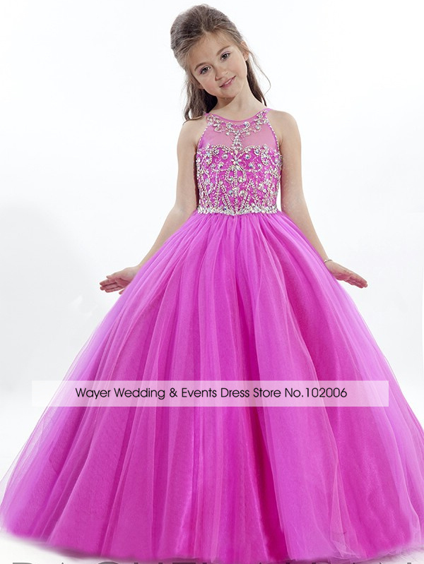 Compare Prices on Hot Pink Puffy Dresses for Kids- Online Shopping ...
