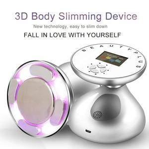 Image 2 - Portable RF Cavitation Fat Remove Ultrasonic Body Slimming Machine Ultrasound Photon Radio Frequency Domestic Weight Loss Device