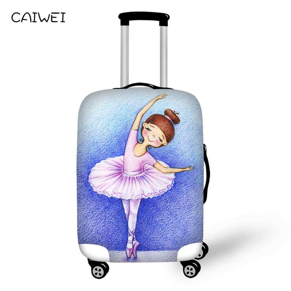 Luggage Protective Cover 18-30 inch Trolley Suitcase Protect Dust Bag Case Child Cartoon Travel Accessories Elastic Perfectly