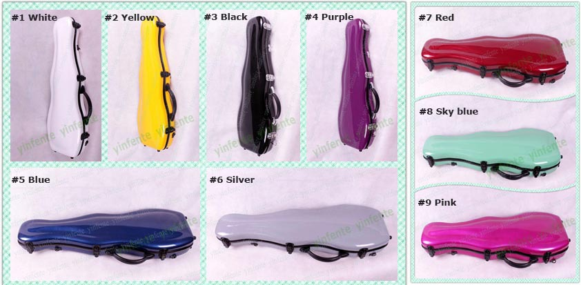 Здесь можно купить   High quality 4/4 Violin Glass fiber case Waterproof Light Durable Dropshipping Wholesale Blue Спорт и развлечения