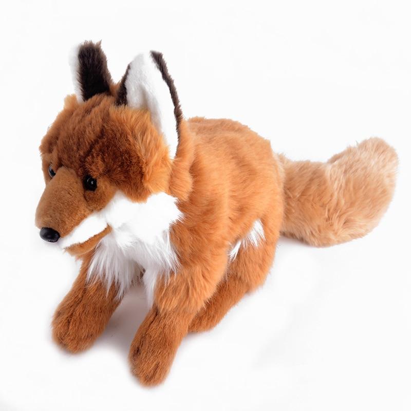 Plush Stuffed Animal Fox Standing Simulation Fox Toys Best