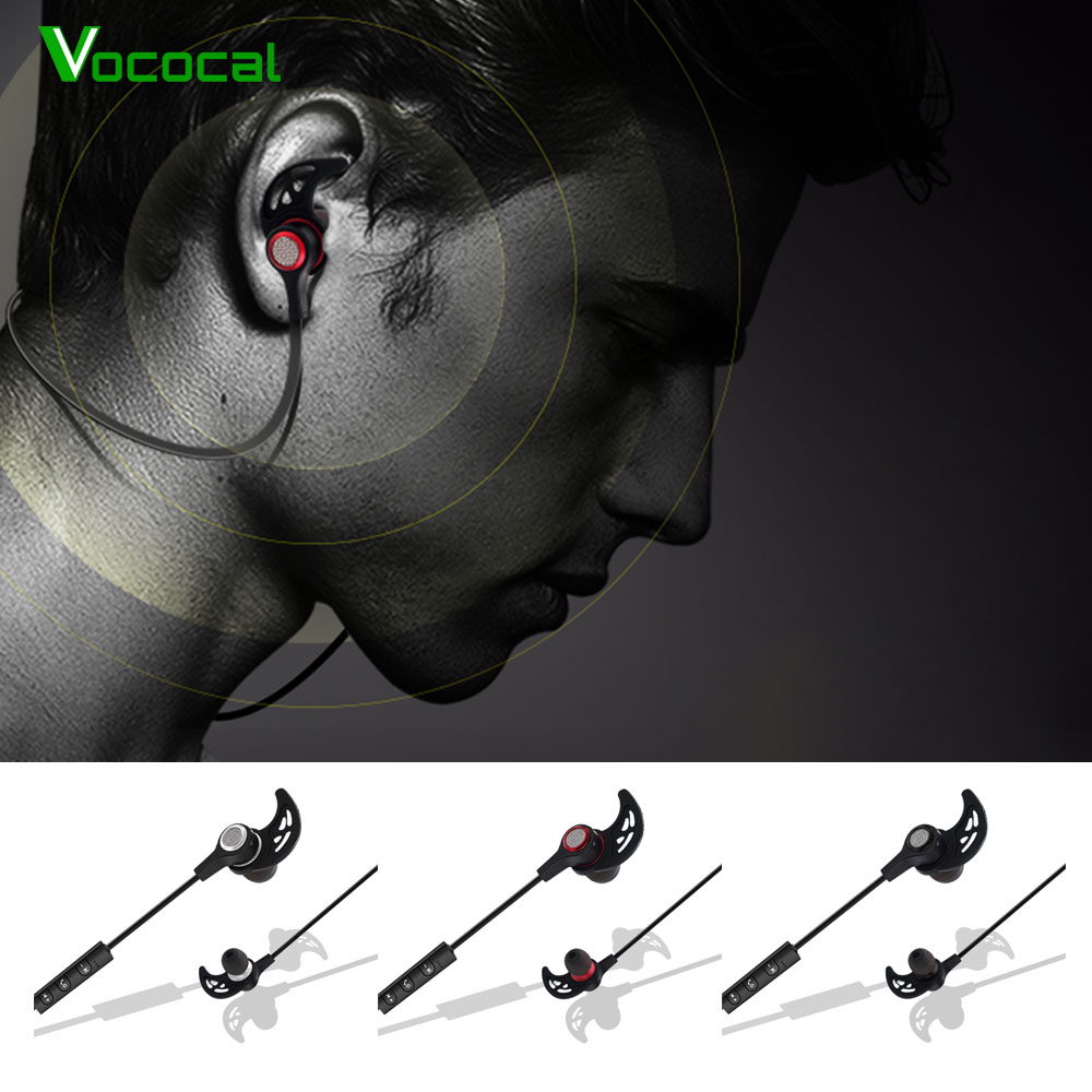 Vococal Bluetooth Earbuds Headphone Earphone Headset with Microphone Mic for iPhone ipon iphon 7 6 5 Samsung Galaxy S8 S 8 Plus chifres malevola png