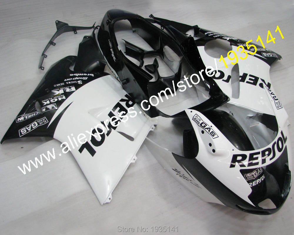 Hot Sales,Repsol kit For Honda CBR1100XX 96-07 CBR 1100 XX 1996-2007 white black body Fairing of motorcycle (Injection molding) hot sales for honda cbr600 f3 97 98 abs body kit cbr 600 f3 1997 1998 cbr 600f3 body work motorcycle fairing injection molding