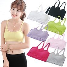 Hot Women's Casual Half Length Tube Tank Top  Modal Y-Shape Padless Strap Crop Tops Cropped Clothings BE2B