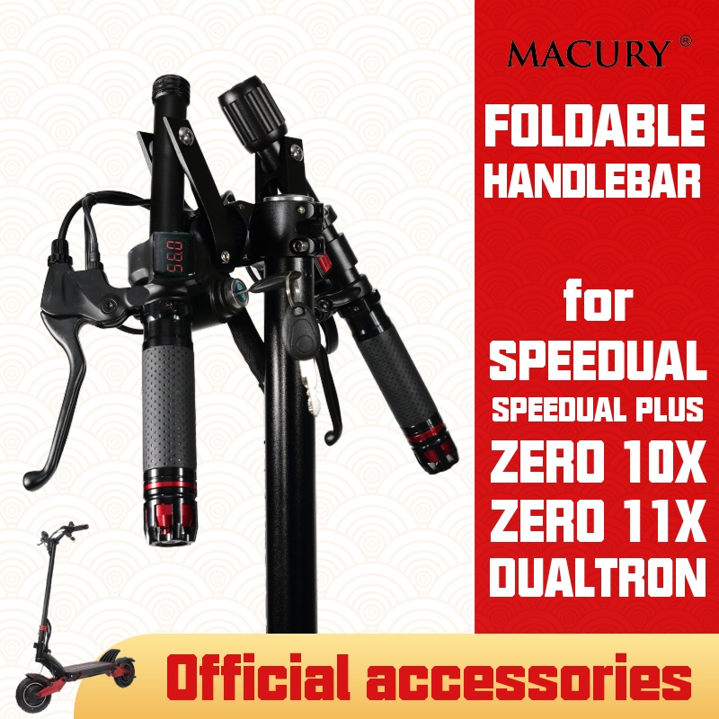 Foldable Handlebar for Speedual Plus T10 ddm Zero 10X 11X Dualtron OX OXO Electric Scooter Customize