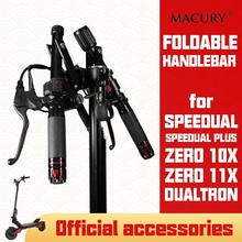 Foldable Handlebar for Speedual Plus T10 ddm Zero 10X 11X Dualtron OX OXO Electric Scooter Customize Parts Folding 25.4 31.8 mm