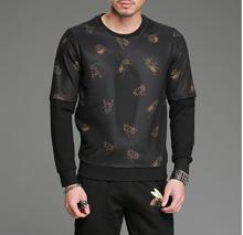 Autunno nuova personalità della moda hoody stampa a maniche lunghe sweatershirt