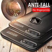 Lüks PU Deri IPhone için kılıf 8 7 6 6 s Artı telefon kılıfı Yumuşak Kapak üzerinde IPhone 6 Için 6 s 7 8 silikon Darbeye Dayanı...