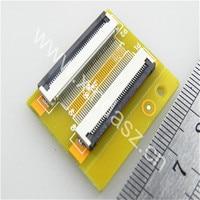 Trasporto libero 40*20mm 0.5mm pitch pin a pin Extention piastra di Adattamento ffc fpc scheda del convertitore