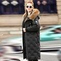 2016 Espessamento Inverno Mulheres Parkas das Mulheres Amassado Outerwear Jaqueta Plus Size de Algodão-acolchoado Jaqueta de Médio-longo Exército Casaco verde