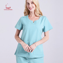Surgical clothes women's short-sleeved hand-washing doctor's clothing nurse's brush operating room uniform suit