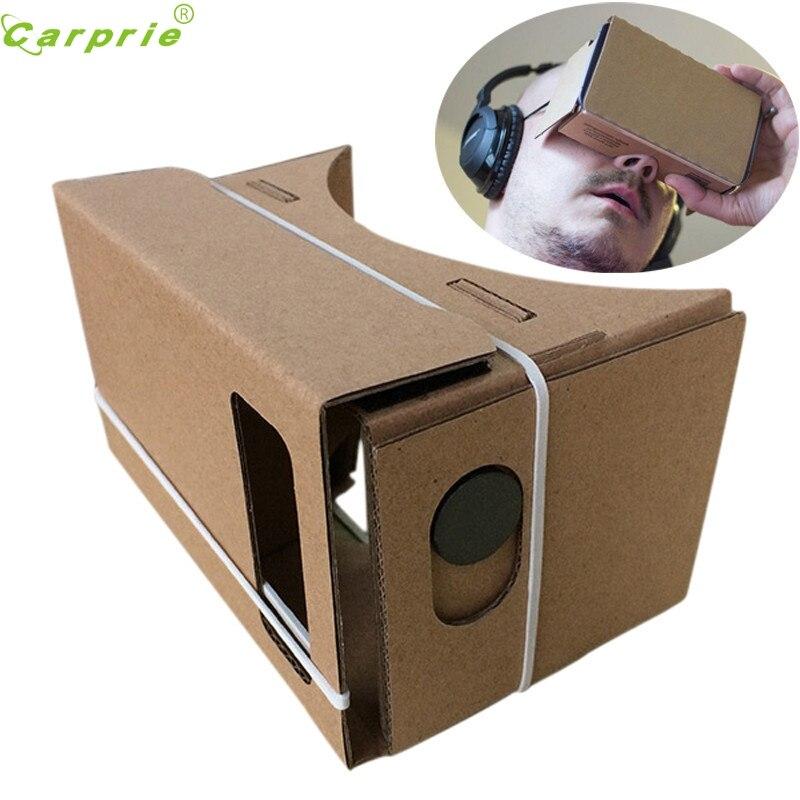 Datos mejor precio gafas de 6 pulgadas diy google cartón vr vr 3d gafas de reali