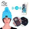 Ttlife chapéu de fone de ouvido bluetooth fone de ouvido para iphone 7 samsung telefones chapéu mulheres inverno desporto ao ar livre bluetooth música estéreo sem fio