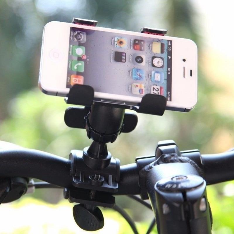 360 di Rotazione della Bici supporto del supporto del telefono del Volante Dell'automobile Staffa del Morsetto Della Clip Della Bici Supporto Del Supporto Del Telefono Della Bicicletta Manubrio Della Clip Del Basamento GPS