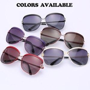 Image 3 - מקורי כוכב סגנון HD מקוטב נשים יוקרה משקפי שמש גבירותיי מותג מעצב מגניב האחרון נקבה HD UV400 שמש משקפיים gafas
