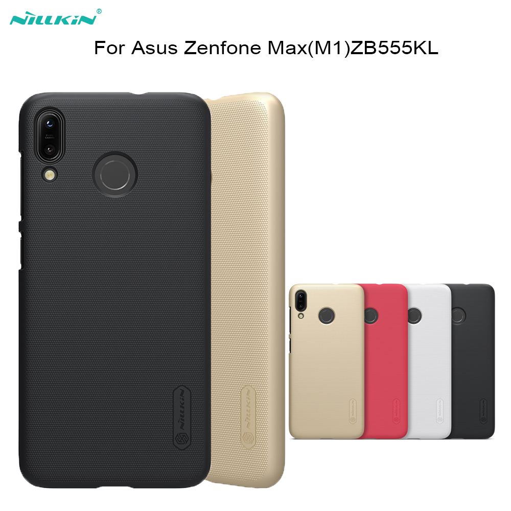 For Asus Zenfone Max(M1)ZB555KL Case NILLKIN Super Frosted Shield PC Hard Back Cover case For Asus ZB555KL phone bags