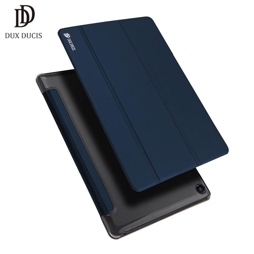 Dux Ducis pour xiaomi mi pad 4 Smart Case tablet Givré bouclier Question PU En Cuir Flip Couverture Snapdragon 8 mi pad 4 manches shell