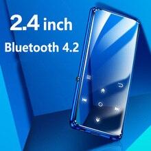 Oryginalny BENJIE K11 IPX4 wodoodporny odtwarzacz muzyczny HIFI Mp4 mp3 bezstratny przenośny odtwarzacz audio wideo Radio FM Ebook dyktafon