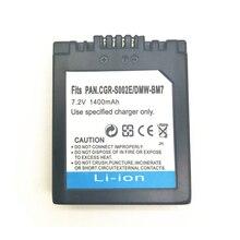S002 CGA-S002 DMW-BM7 камера Аккумулятор для Panasonic FZ1/FZ4/FZ4S/FZ5/FZ5K/FZ5S/FZ10 /FZ15/FZ20/FZ20K/FZ3